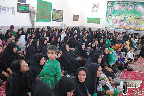 مراسم شیرخوارگان حسینی در روستای مورکی