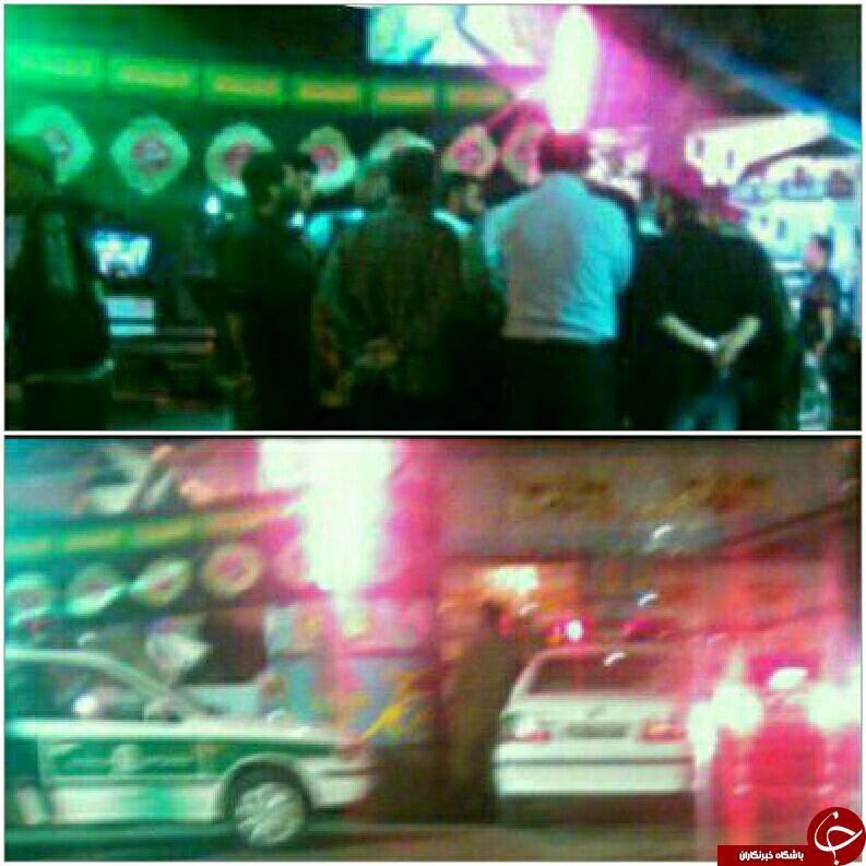 حمله مسلحانه به هیئت عزاداری در ساری+عکس