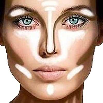 آموزش کانتورینگ صورت، بهترین ترفند برای یک آرایش شیک و باکلاس