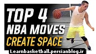 top 4 nba moves to create space - world_s best basketball moves