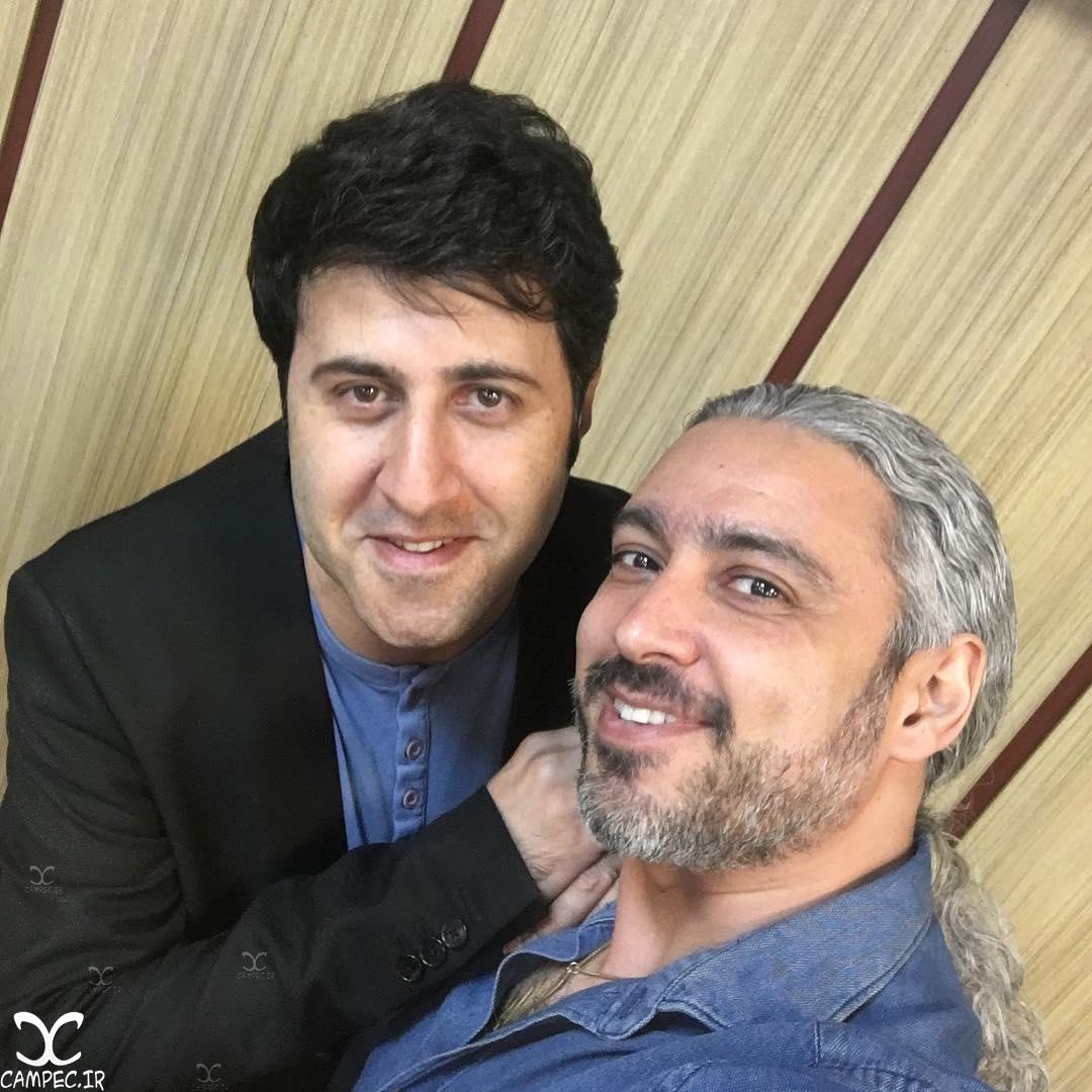 هومن حاجی عبدالهی و مازیار فلاحی