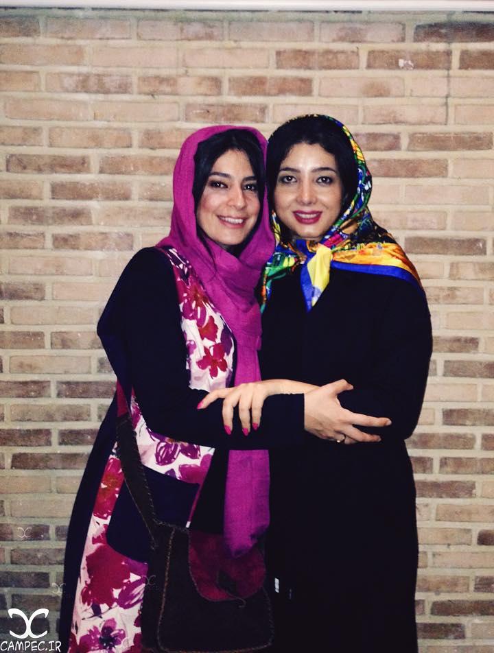 غزاله جزایری و مرجان سپهری