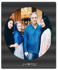 بیوگرافی و عکسهای ایرج نوذری با خواهر و دخترانش