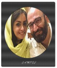 عکس اولین سالگرد ازدواج هدایت هاشمی و همسرش