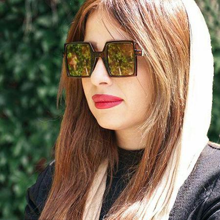 عینک آفتابی مربعی شکل