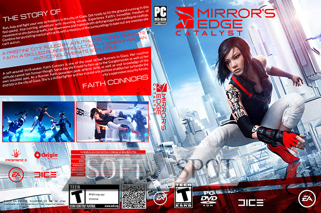 کاور بازی Mirror's Edge Catalyst