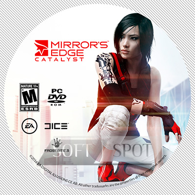 لیبل دیسک Mirror's Edge Catalyst