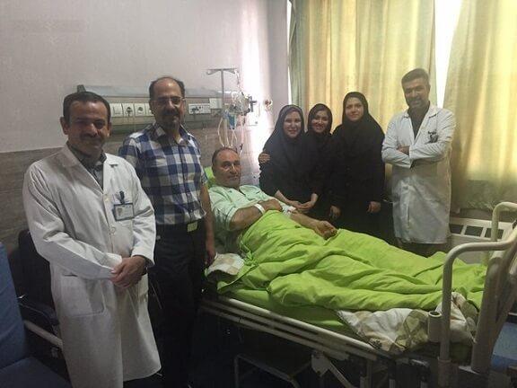 دلیل بستری شدن حمید فرخ نژاد در بیمارستان+آخرین وضعیت و عکس