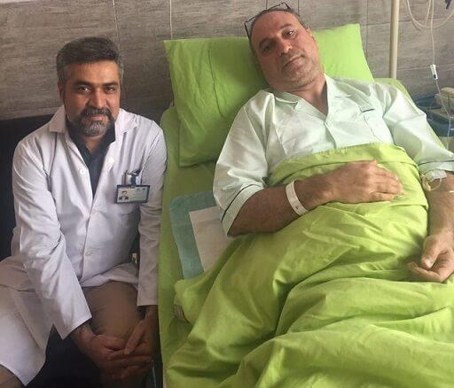 بستری شدن حمید فرخ نژاد در بیمارستان | علت ماجرا | آخرین وضعیت و عکس