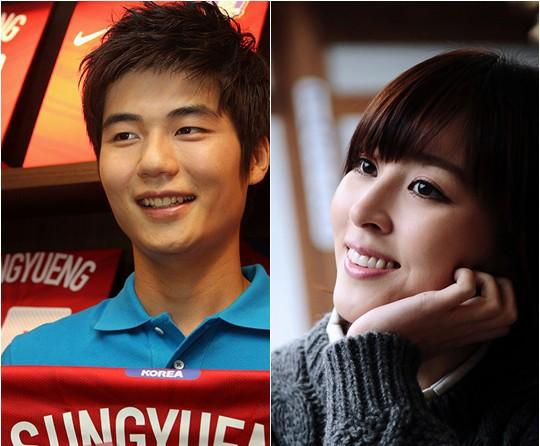 عکسهای کی سونیئونگ بازیکن فوتبال کرهجنوبی و همسرش هان هی جین سوسانو+بیوگرافی