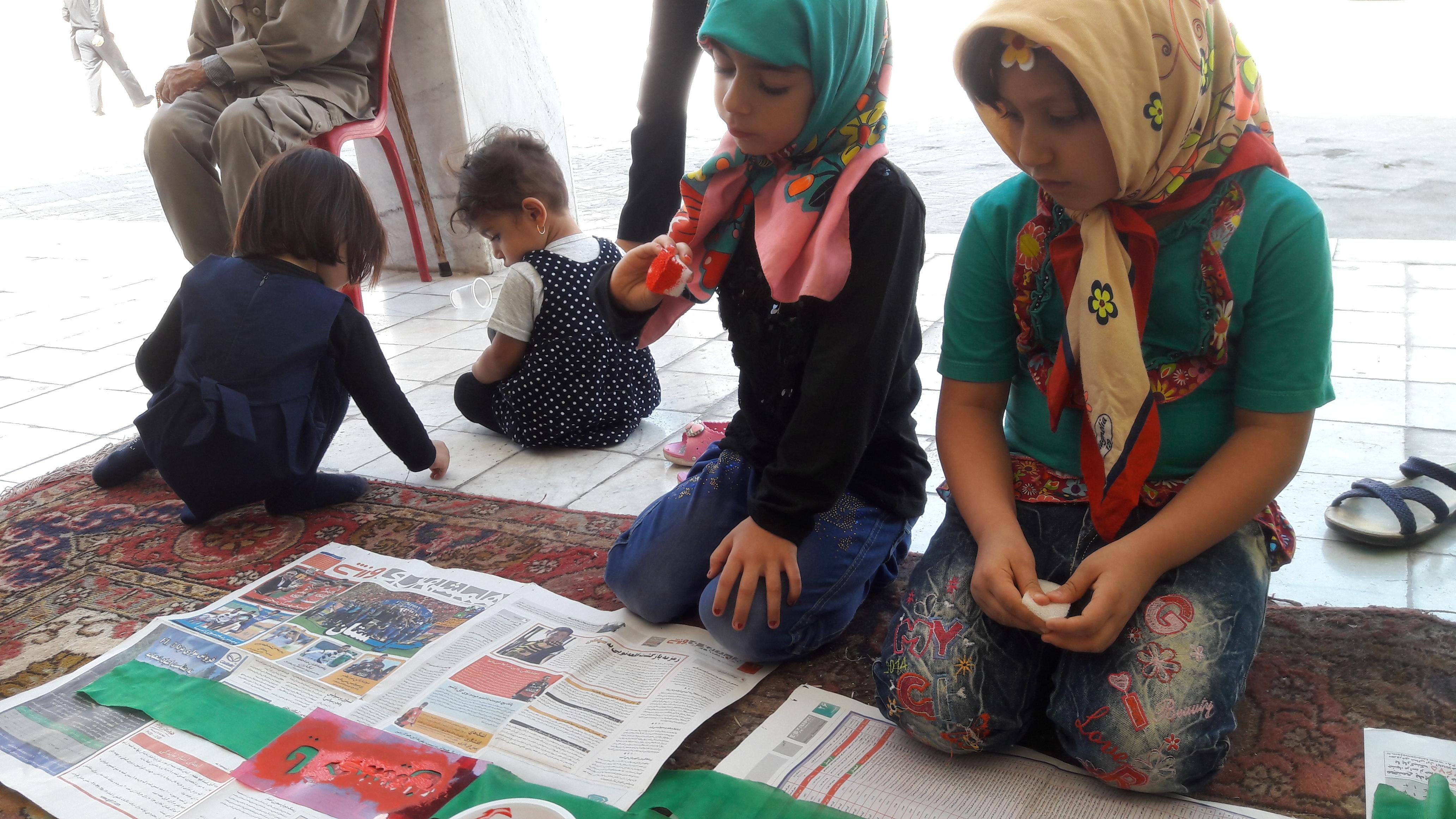 هفته ملی کودک مهدکودک رویای شیرین قیر