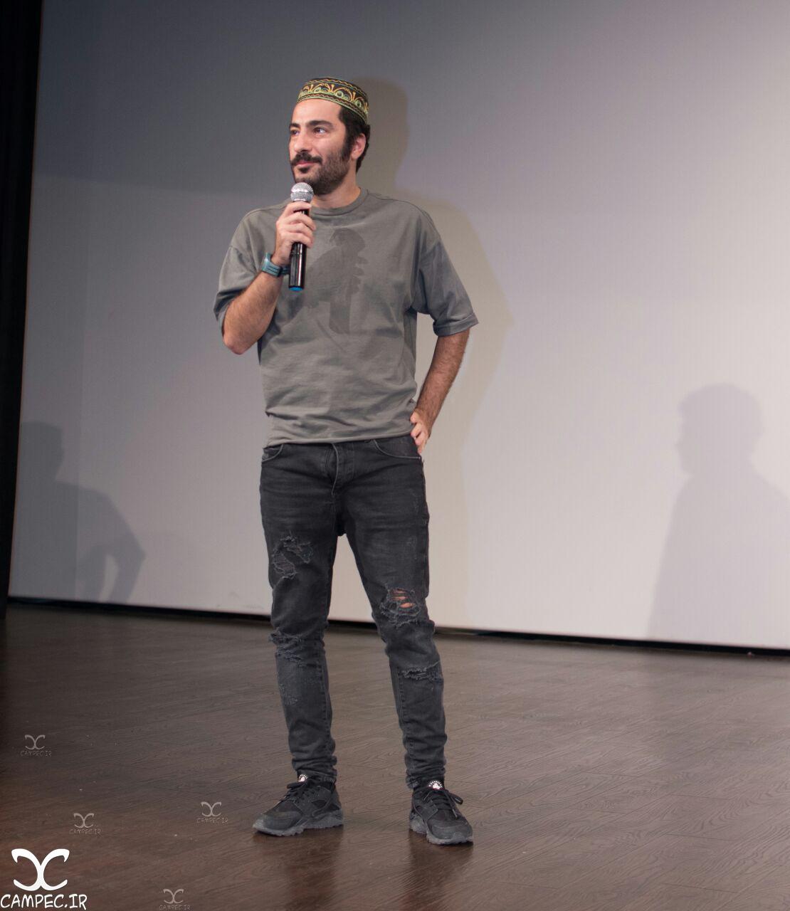 [blocked]نوید محمد زاده در اکران فیلم ابد و یک روز