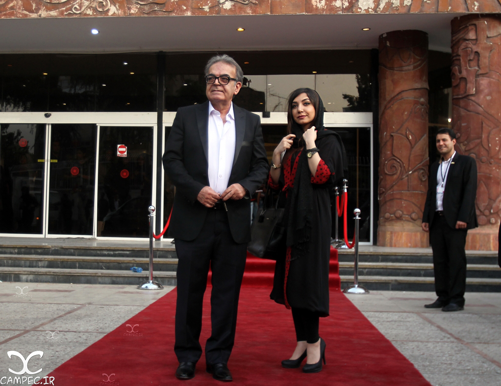 حمید لولایی با دخترش