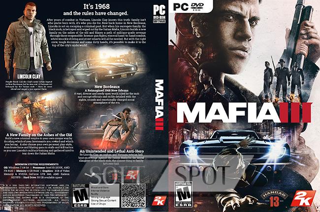 کاور بازی Mafia III