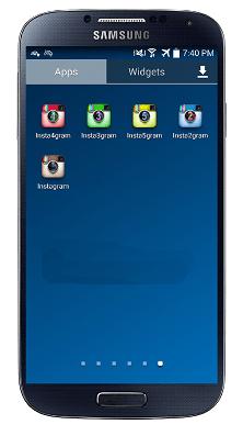 نصب چندین اینستاگرام در یک گوشی