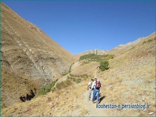 مسیر قله الله بند کوچک - به سمت گردنه زرگاه