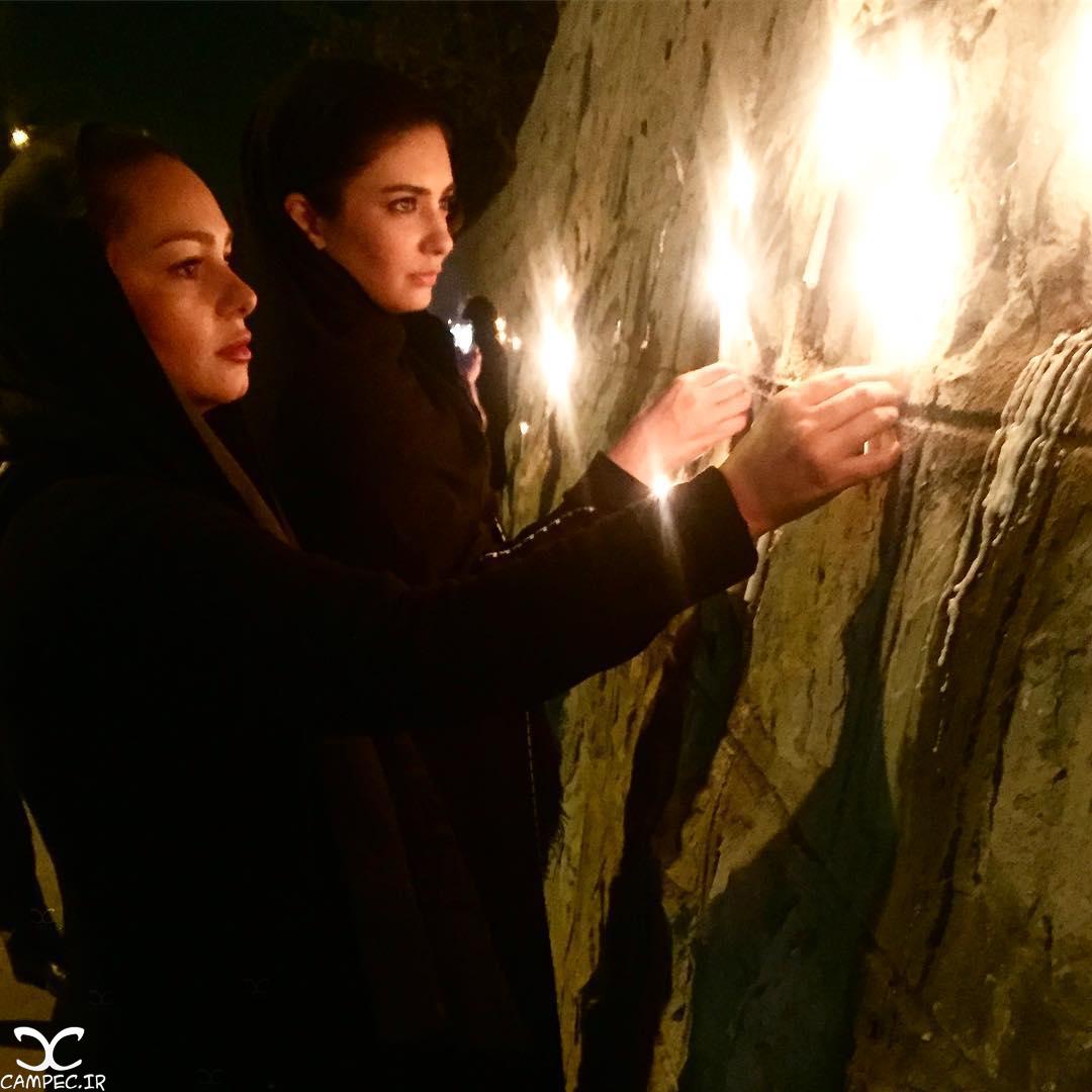 لیندا کیانی در شب شام غریبان امام حسین