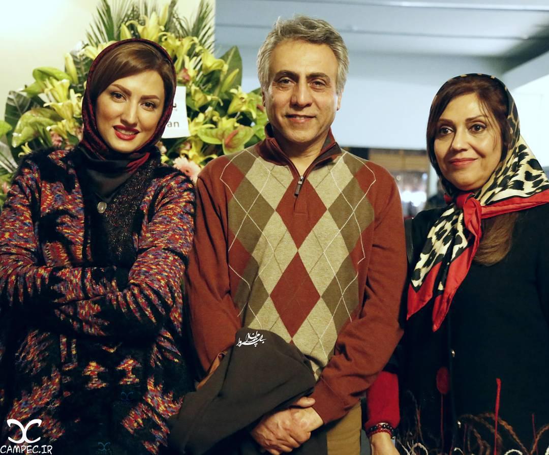 بیژن امکانیان با همسرش و سمیرا حسینی