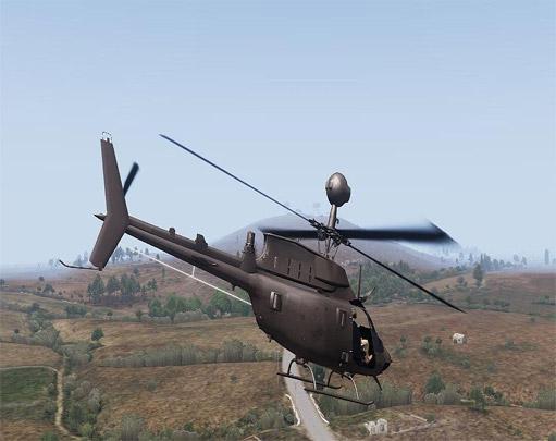 مود هلیکوپتر OH-58