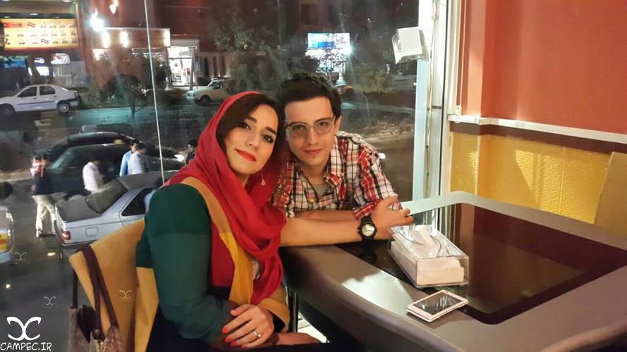 [blocked]امیر کاظمی و همسرش مهتاب محسنی