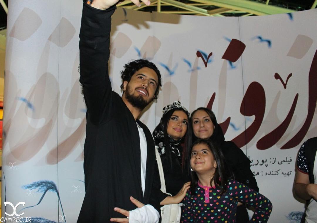 مهرداد صدیقیان در مراسم اکران فیلم اروند