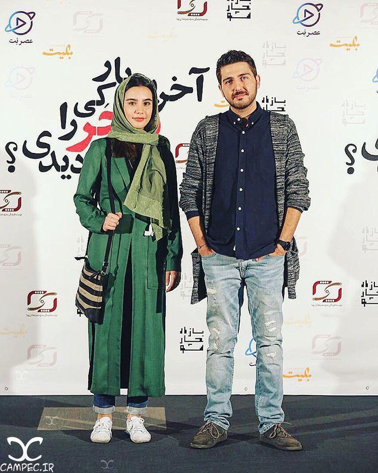 بیتا بیگی و محمدرضا غفاری