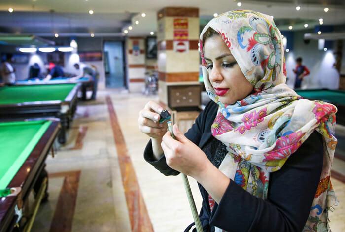 اکرم محمدی امینی | فیلم اکرم محمدی قهرمان بیلیارد | عکس و بیوگرافی