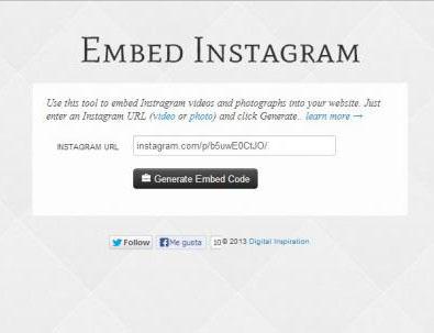 آموزش تصویری  قرار دادن تصاویر و فیلم های اینستاگرام در وب سایت