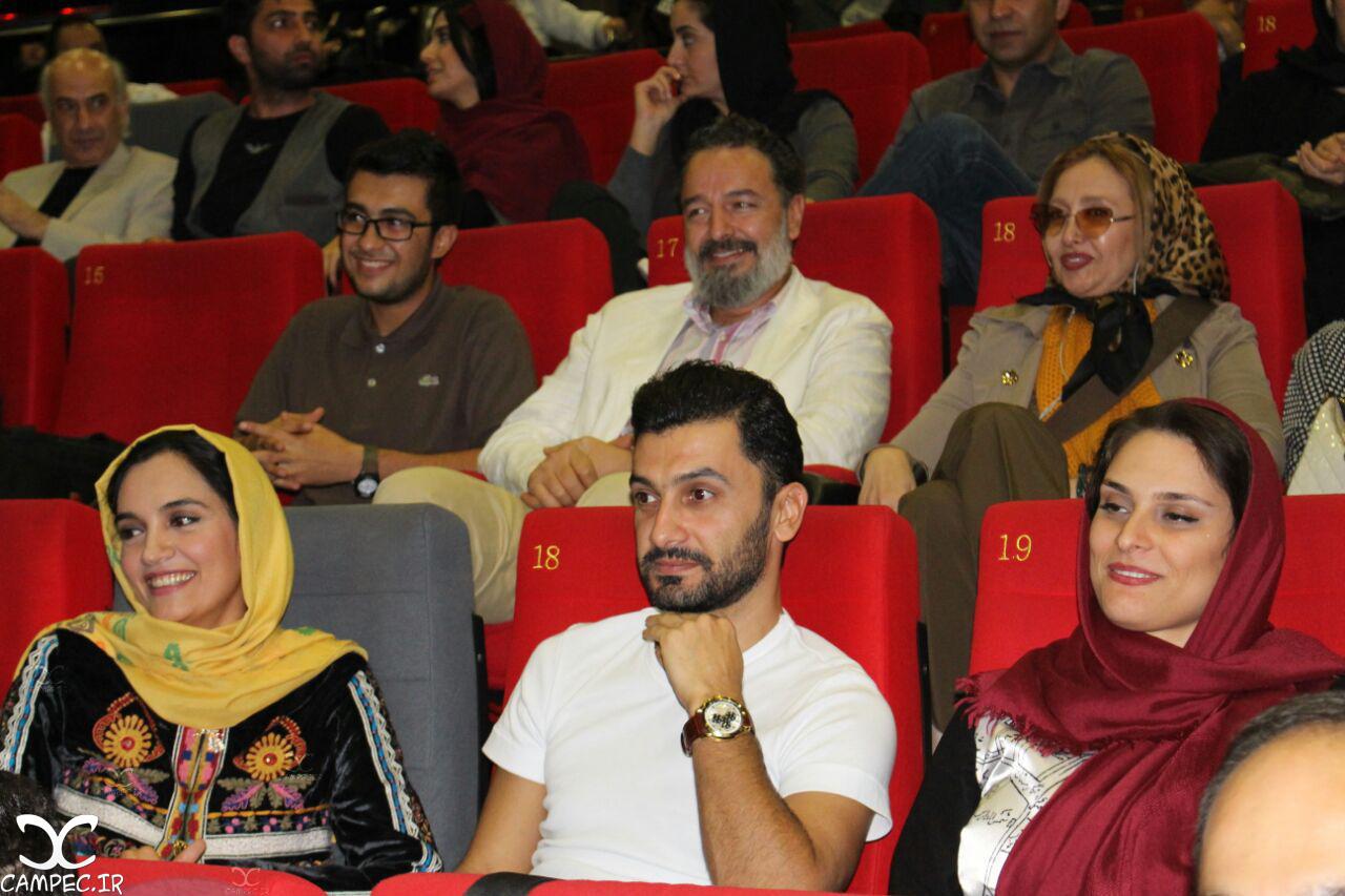 مراسم اکران فیلم این زن حقش را میخواهد