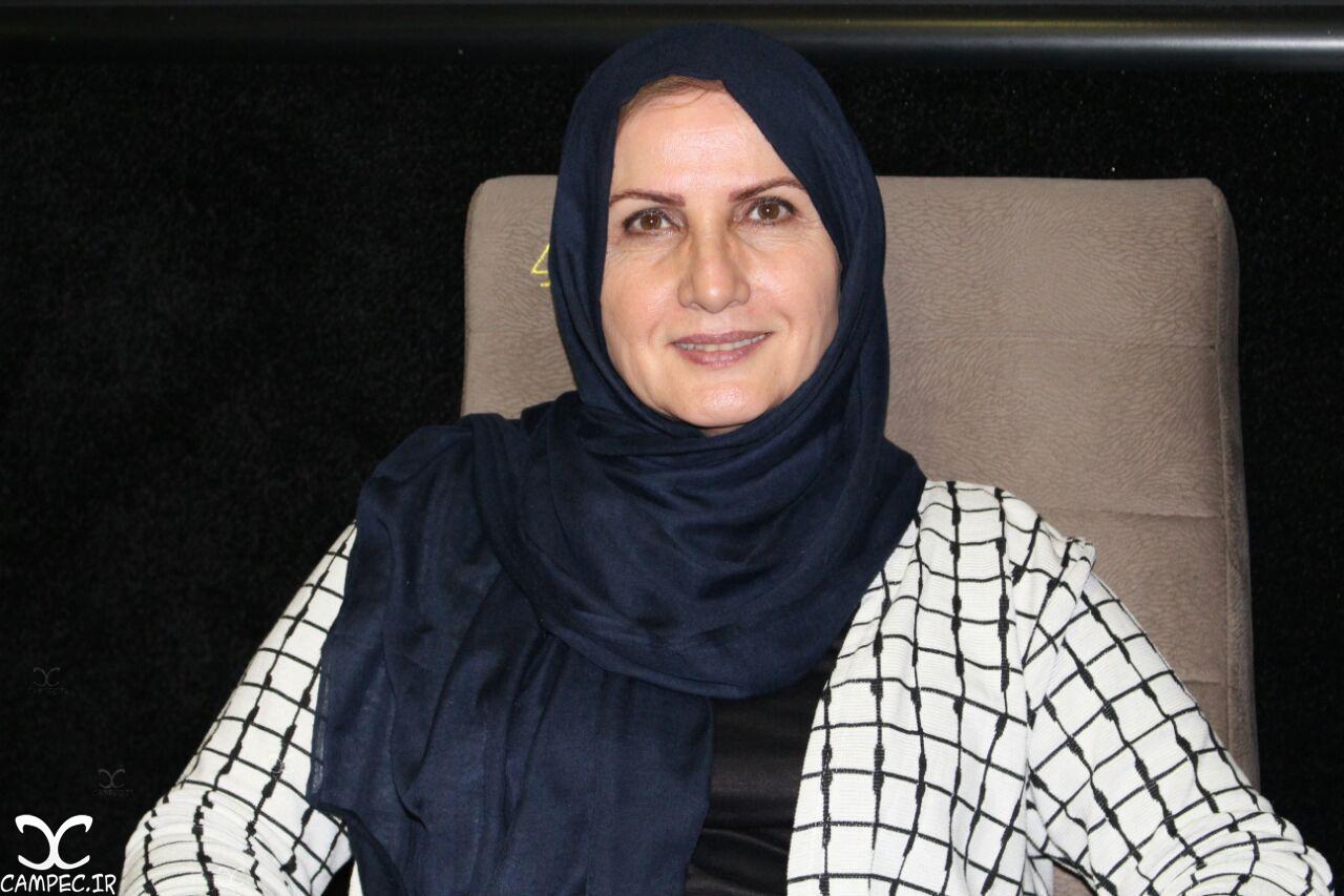 زهرا سعیدی در اکران فیلم این زن حقش را میخواهد