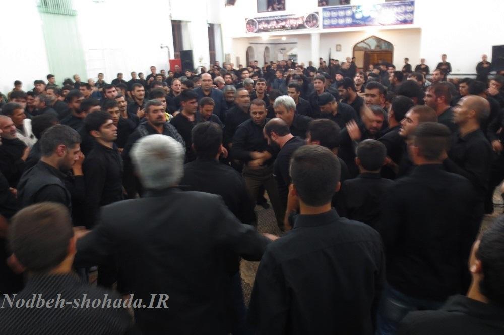 واعباس هیئت درویش تیموری پهرآباد عکس محرم در مراغه 95