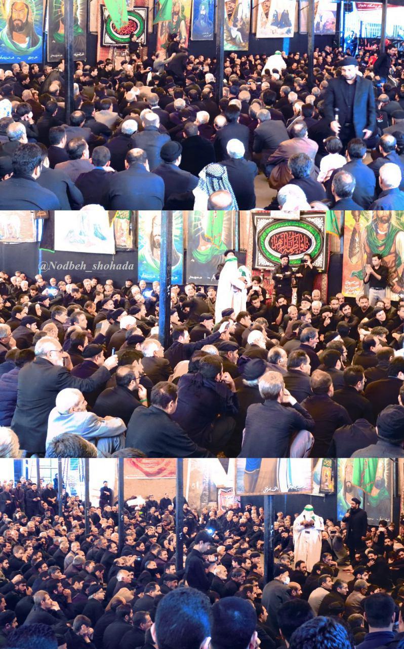 تصاویر عزاداری هیئت حاج جسین پاشا خواجه ملکم  محرم مراغه