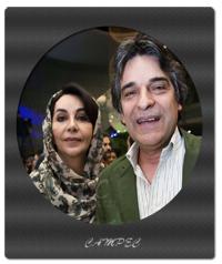 عکسها و زندگینامه اردلان شجاع کاوه و همسرش الیزا اورامی