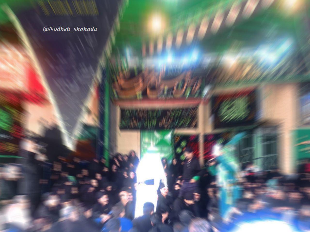 شبیه خوانی هیئت حاجی میری مرحوم محله دروازه مراغه محرم95