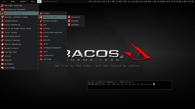 سیستم عامل DracOS سبک و قدرتمند برای تست نفوذ + دانلود