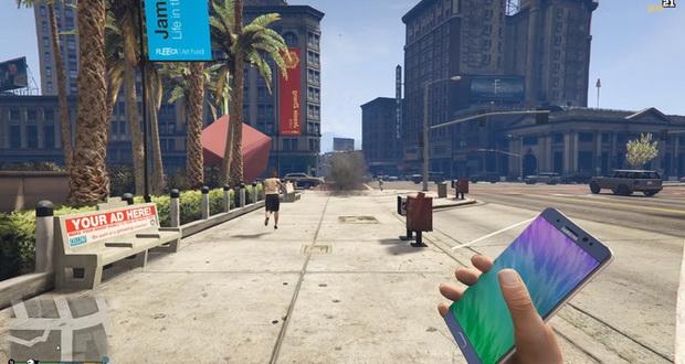 انفجار گلکسی نوت هفت در بازی GTA V