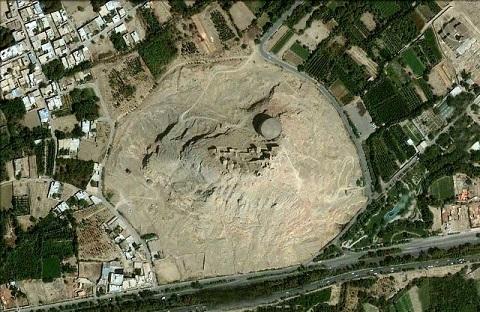 عکس هوایی آتشگاه اصفهان