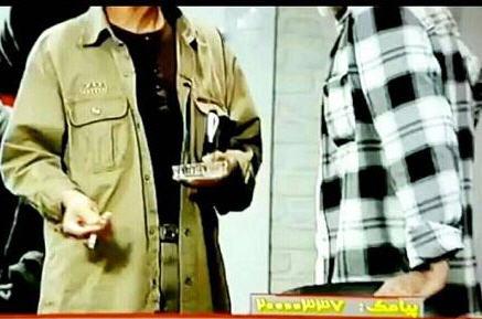 سیگار کشیدن محمدتقی فهیم کارشناس برنامه هفت 30 مهر 95+فیلم و عکس