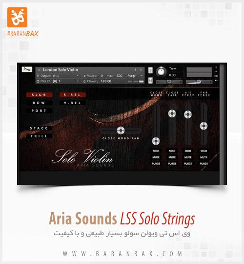دانلود وی اس تی ویولن Aria Sounds LSS Solo Strings Solo Violin