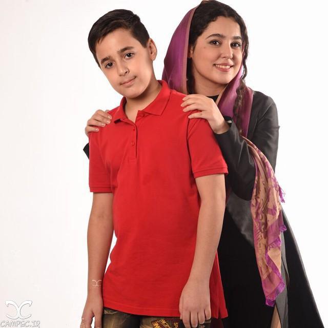مهسا هاشمی با برادرش