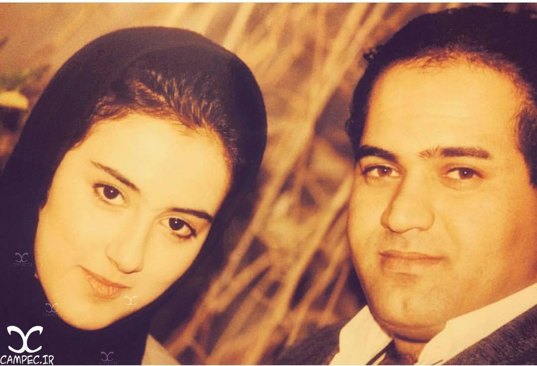 عکس قدیمی نادر سلیمانی با همسرش
