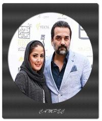یغما گلرویی و همسرش آتنا حبیبی + بیوگرافی عکسها و زندگینامه
