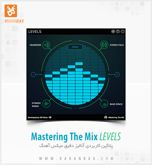 دانلود پلاگین آنالیز میکس Mastering The Mix LEVELS