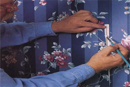 مقاومت کاغذ دیواری در برابر پارگی image
