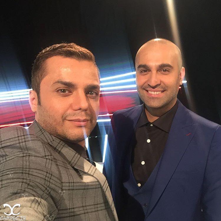 آرش ظلی پور و نیما رئیسی در برنامه خط سوم