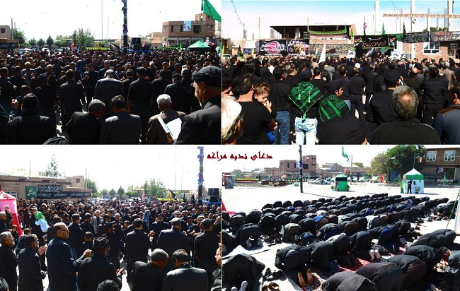 اجتماع عظیم عاشورائیان پهرآباد