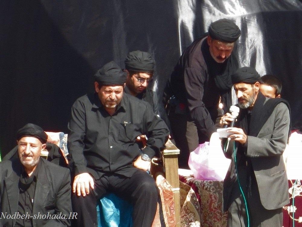 عکس عزاداری عاشورا پهرآباد مراغه محرم 95