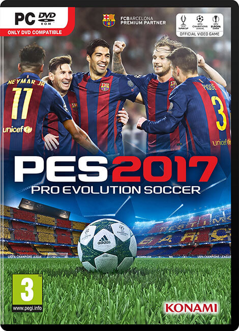 دانلود کرک رایگان بازی PES 2017 برای کامپیوتر pc+راهنمای نصب