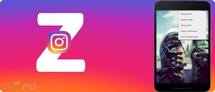 دانلود برنامه Zoom For Instagram اینستاگرام