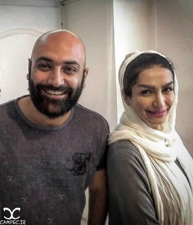 مهدی کوشکی و همسرش صحرا فتحی